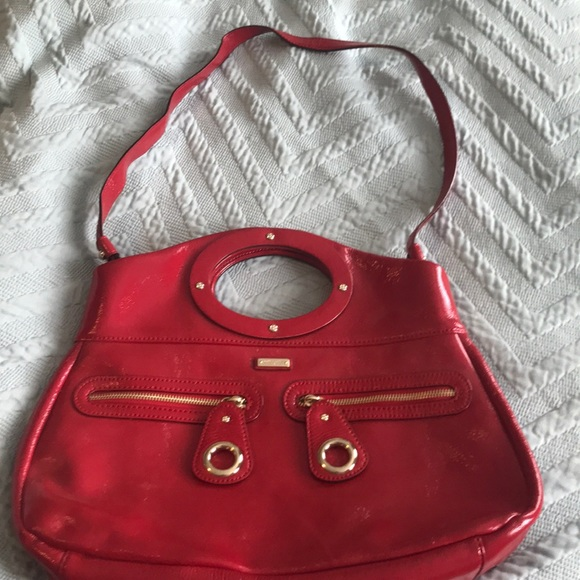 kate spade Handbags - Red Patent Leather Kate Spade Bag